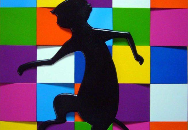 2013 - tecnica mista, 40 x 40 cm