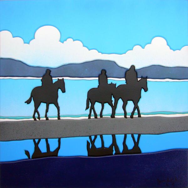 Cavalli alla marina